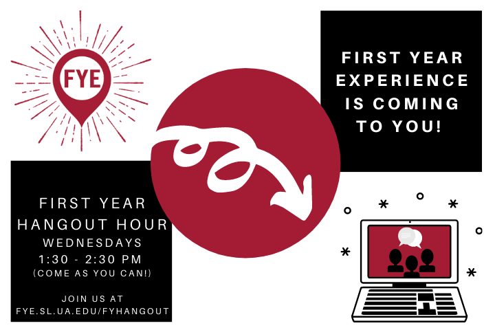 First Year Hangout Hour