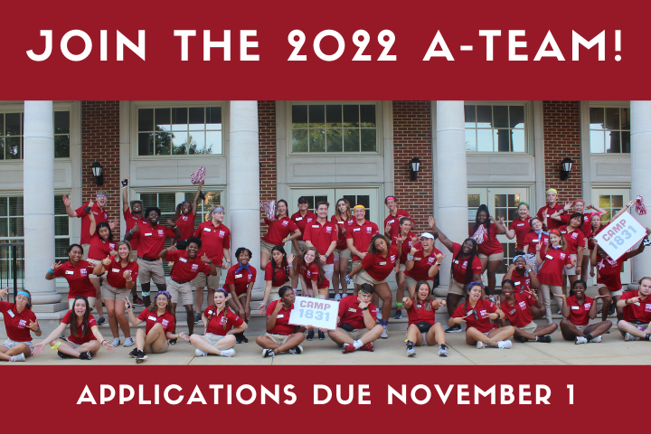Sign up for the 2022 A-Team!