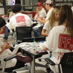 Freshman Forum serves local Animal Shelters.